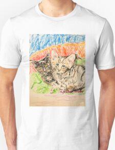 Two Kittens Unisex T-Shirt