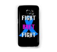 Fight Bret Hart Fight , Prostate Cancer Awareness wwe Samsung Galaxy Case/Skin
