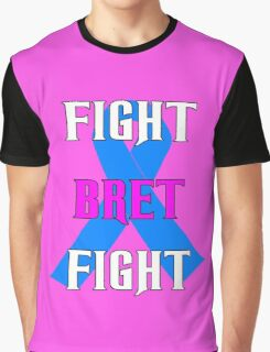 Fight Bret Hart Fight , Prostate Cancer Awareness wwe Graphic T-Shirt