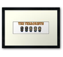 CSGO The terrorists Framed Print