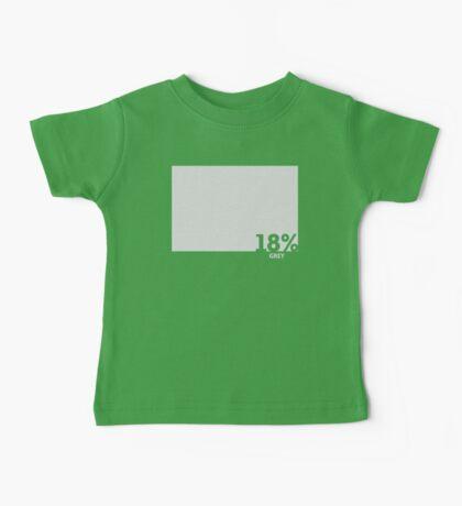 18% Grey Test Tee Baby Tee