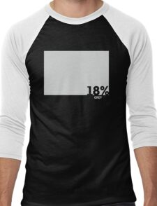 18% Grey Test Tee Men's Baseball ¾ T-Shirt