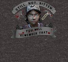 Clementine Still Not Bitten Unisex T-Shirt