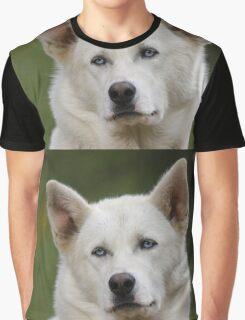 Working Dog Portrait Graphic T-Shirt