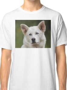 Working Dog Portrait Classic T-Shirt