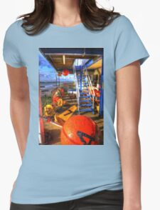 Mersea Buoys  Womens Fitted T-Shirt