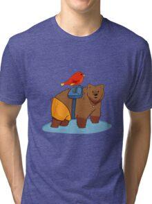 Real life Banjo Kazooie  Tri-blend T-Shirt