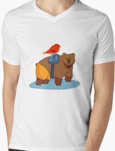 Real life Banjo Kazooie  Mens V-Neck T-Shirt