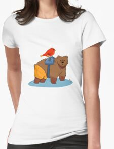 Real life Banjo Kazooie  Womens Fitted T-Shirt