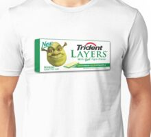 Shrek-Gum Trident Layers Unisex T-Shirt