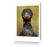 Cormorant Attitude Greeting Card