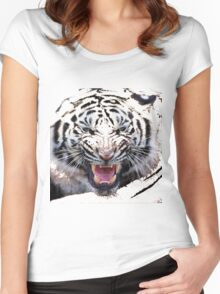 Tigr3 Women's Fitted Scoop T-Shirt