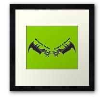 Draven League Framed Print