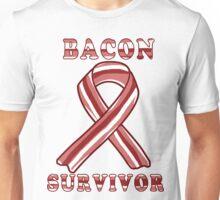 Bacon Causes Cancer - Call Me a Survivor then! Unisex T-Shirt