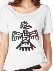 Aztec Bird Women's Relaxed Fit T-Shirt