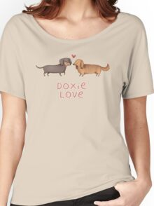 Doxie Love Women's Relaxed Fit T-Shirt