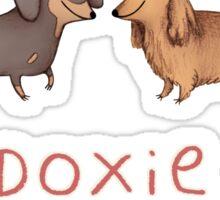 Doxie Love Sticker