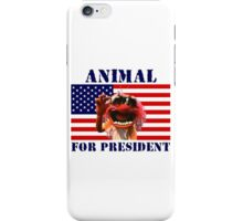 Animal for President iPhone Case/Skin