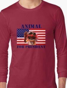 Animal for President Long Sleeve T-Shirt