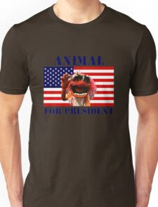 Animal for President Unisex T-Shirt