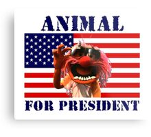 Animal for President Metal Print