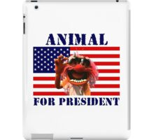 Animal for President iPad Case/Skin