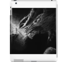 Valley of the Shadow Original Charcoal art iPad Case/Skin