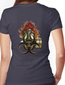.:BIOHAZARD:. Womens Fitted T-Shirt
