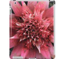 Pink Spike Flower iPad Case/Skin