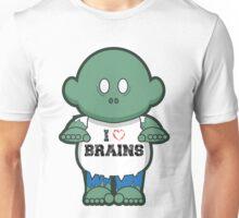 I <3 Brains Unisex T-Shirt