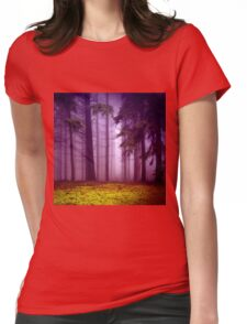 fog Womens Fitted T-Shirt