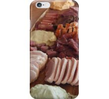 Poachers tasting  plate smoked foods  iPhone Case/Skin