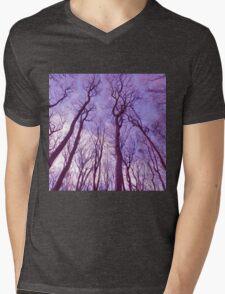 forest sky Mens V-Neck T-Shirt