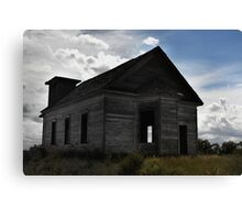 Old School house New Mexico Canvas Print
