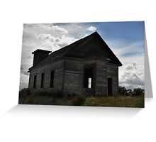 Old School house New Mexico Greeting Card