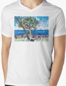 Bargara Mens V-Neck T-Shirt