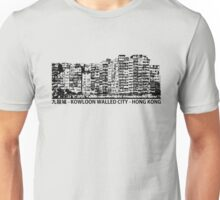 Kowloon Walled City Hong Kong Architecture T-shirt Unisex T-Shirt