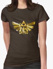 The Golden Power (Green) Womens Fitted T-Shirt