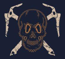 Skull and Cross Axes Kids Tee