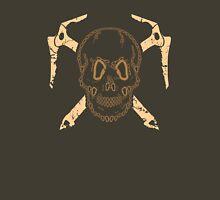 Skull and Cross Axes Unisex T-Shirt