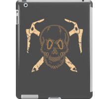 Skull and Cross Axes iPad Case/Skin