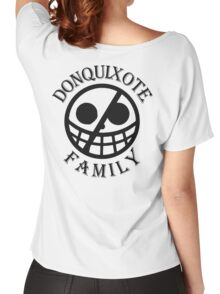 Donquixote Family (Black Version) Women's Relaxed Fit T-Shirt