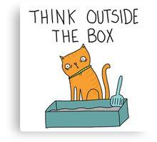 Creative Cat Canvas Print