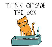 Creative Cat Photographic Print
