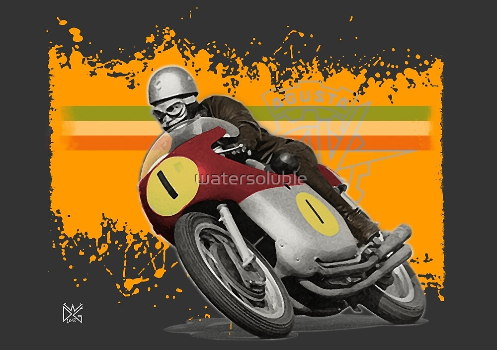 cafe racer - agusta 500/4 by dennis william gaylor