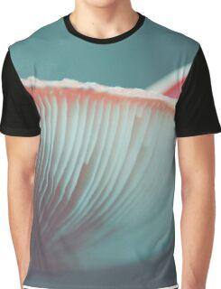 mushroom macro Graphic T-Shirt