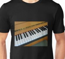Piano Notes Unisex T-Shirt