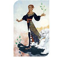 Tarot card - The Fool Photographic Print