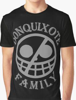 Donquixote Family (Grey Version) Graphic T-Shirt