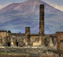 Naples Vesuvius Sticker